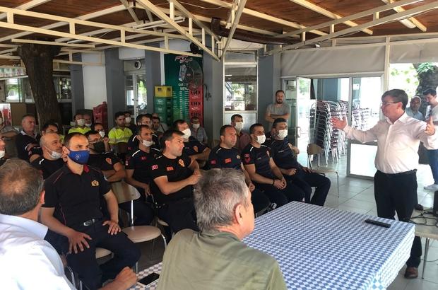 Büyükşehir ve TCDD arasında karşılıklı yangın eğitimi