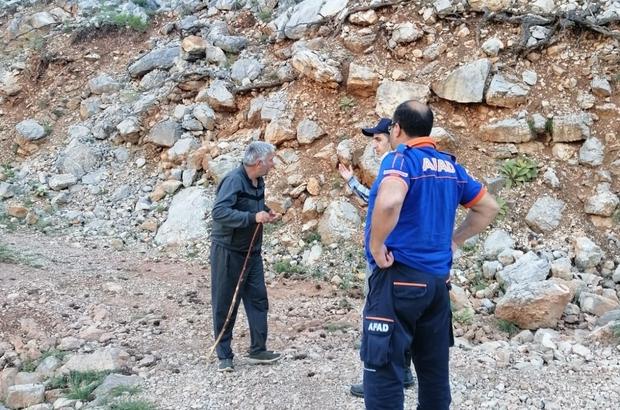 Isparta'da kaybolan gurbetçi evine 15 kilometre uzaklıkta bulundu