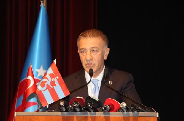 Trabzonspor Başkanı Ahmet Ağaoğlu'nun Abdulkadir Ömür pişmanlığı Trabzonspor Yönetimi, Olağan Mali Genel Kurul'da ibra edildi