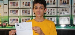 LGS birincisi Adıyaman'dan Türkiye'de 97 kişinin tam puan aldığı LGS'de Adıyaman'dan 2 öğrenci tam puan almayı başardı
