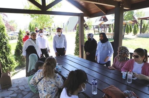 Görme engelli öğrenciler Dostum'a misafir oldu
