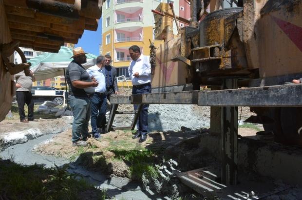 Sorgun Belediyesi'nin sondaj çalışmaları devam ediyor