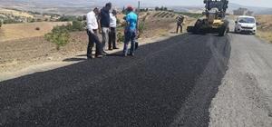 Köylerde yol bakım onarım çalışmalarına hız verildi