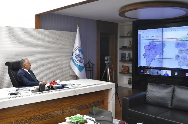 Başkan Büyükkılıç, Kayserigaz'ın Yönetim Kurulu Toplantısı'na katıldı