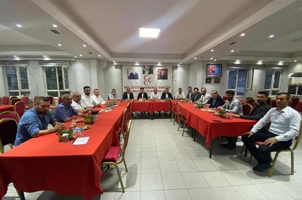 MHP'li başkanlar Yenişehir'de toplandı