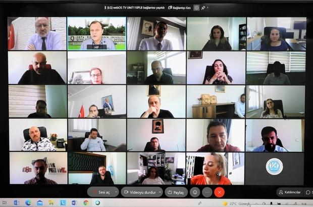 Kayseri Üniversitesi'nde Yükseköğretimde Veriye Dayalı Performans Yönetimi Toplantısı