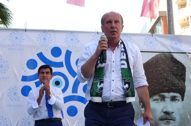 Muharrem İnce, Denizli'de partisinin il başkanlığını açtı