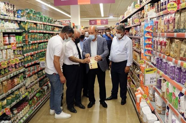 Van'da yerel ve ulusal marketler denetlendi