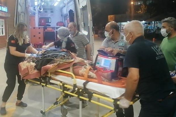 Seyir halindeki traktör üzerinden düşen kadın ağır yaralandı