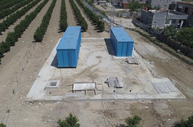 Atgirmez Mahallesine kanalizasyon ve paket arıtma tesisi yapılıyor