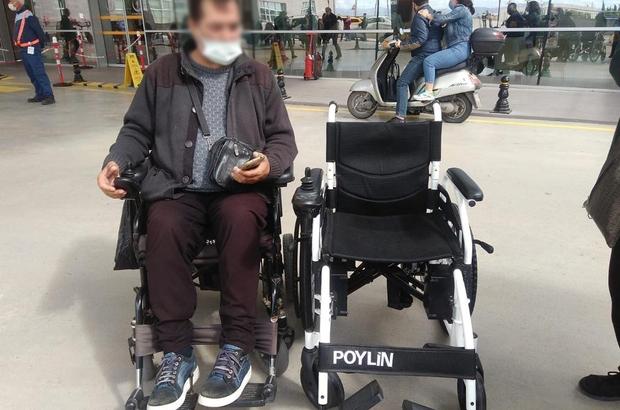 Tekerlekli sandalyelerine Yunusemre ile kavuştular