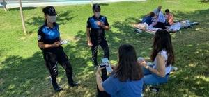 Van polisinden boğulmalara karşı bilgilendirme