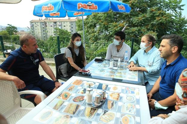 Avcı, Mustafa Reşit Akçay'ın ailesini ziyaret etti