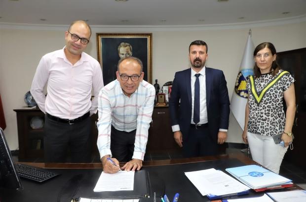 Başkan Akın imzayı bu kez Turkap A.Ş. çalışanları için attı