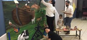Doğubayazıt'ta gönüllü öğretmenlerin örnek çalışmaları