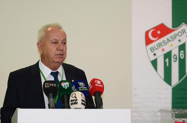 Bursaspor'un yeni Divan Başkanı Galip Sakder oldu