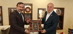 Başkan Hüseyin Doğan'dan Erzurum ziyareti