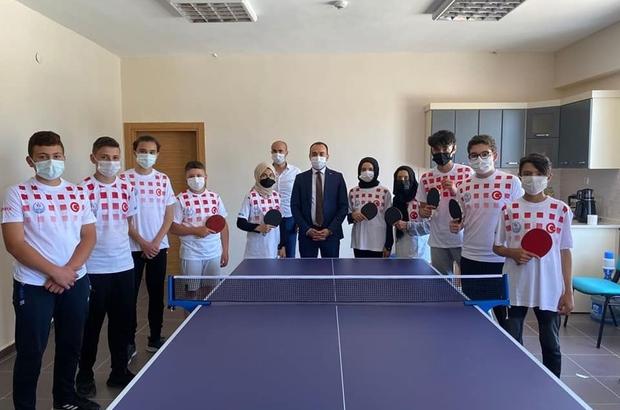 Aslanapa'da ''Masa tenisi'' turnuvası