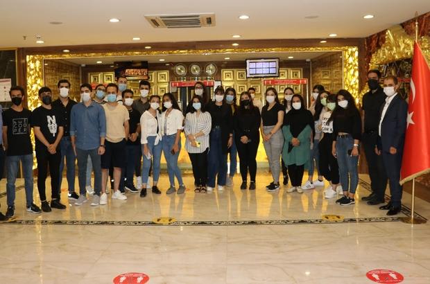 (Özel) İranlı öğrenci grubu YÖS için Van'a geldi