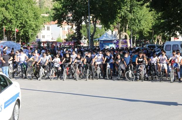 Yahyalı Bisiklet Turu'na büyük ilgi