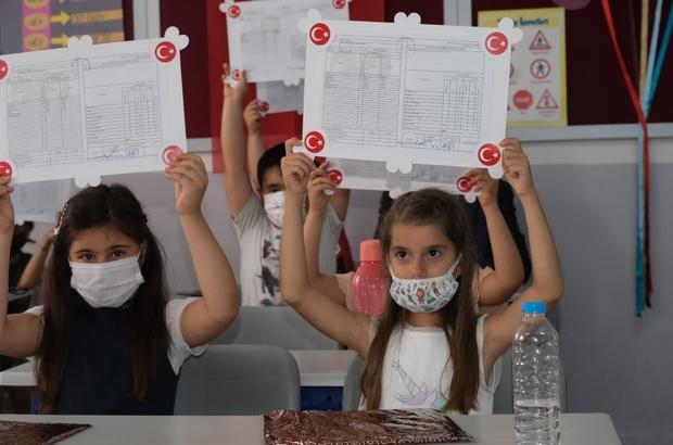 Muğla'da 153 bin 249 öğrenci karne aldı