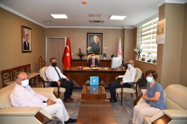 Manisa Sağlık Sen'den İl Sağlık Müdürü Erkuş'a 'hayırlı olsun' ziyareti
