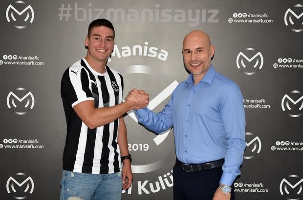 Manisa FK, Slovenyalı orta saha oyuncusunu kadrosuna kattı Leon Sever Manisa FK'da
