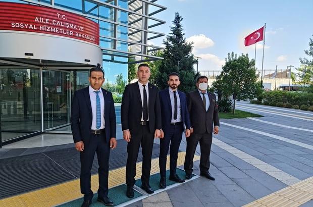 Başkan Deveci Ankara'da Sivas Şehit Aileleri ve Gaziler Sosyal Yardımlaşma ve Dayanışma Dernek Başkanı Fatih Deveci, şehit ailelerinin istek ve taleplerinin giderilmesi için Ankara'ya gitti