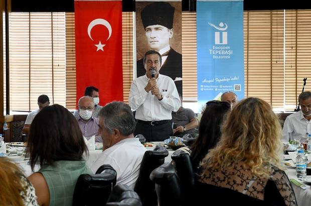 """Başkan Ataç: """"Tepebaşı'na en iyi hizmeti sunmaya devam edeceğiz"""""""