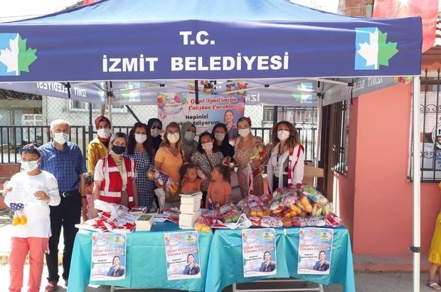 İzmit Belediyesi'nden öğrencilere karne hediyesi