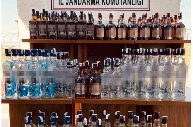 Çamaşır ve bulaşık makinalarından bile kaçak içki çıktı Tekirdağ'da kaçak içki operasyonu, 306 litre gümrük kaçağı içki ele geçirildi