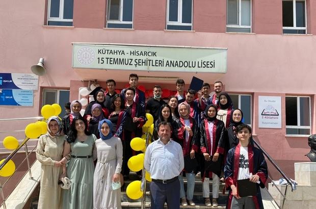 Anadolu Lisesi'nde mezuniyet töreni
