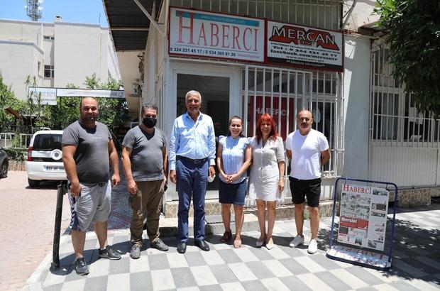 Başkan Tarhan, Mersin basınına projelerini anlattı