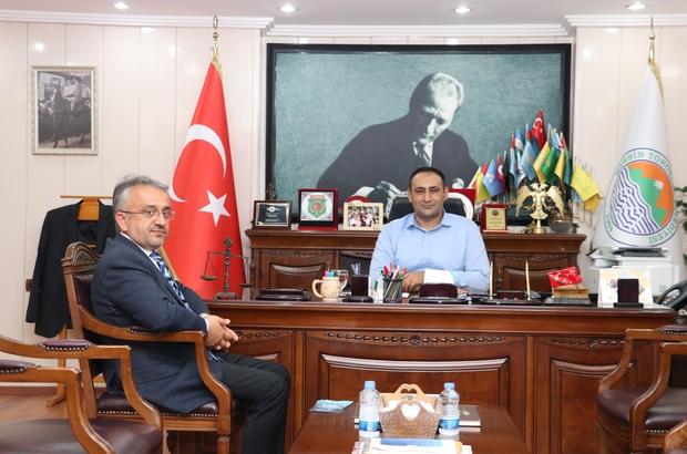 Başkan Yılmaz, Türkiye Diyanet Vakfı'na kurban bağışında bulundu