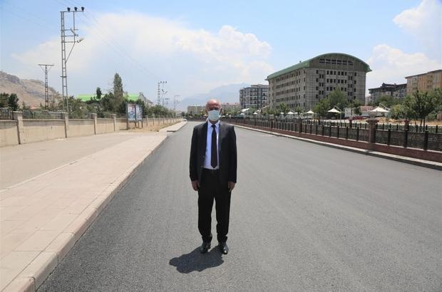 Tuşba'nın cadde ve sokakları yenilendi Başkan Akman'dan, Van Büyükşehir Belediyesine teşekkür
