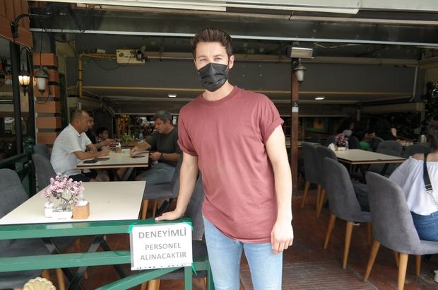 İş var, çalışacak personel yok Normalleşme ile birlikte işleri yoğunlaşan kafe işletmecileri çalıştıracak personel bulamamaktan şikayetçi