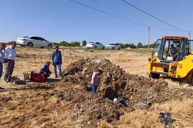 DİSKİ, Ergani ana terfi hattındaki arızayı kısa sürede giderdi