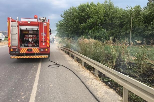 Manisa itfaiyesi 6 aylık verileri paylaştı, anız ve ot yangınlarına karşı uyardı