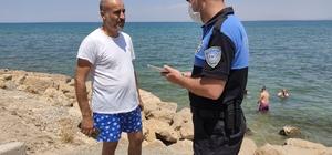 Polis boğulmalara karşı broşür dağıttı