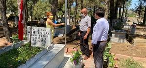 Sarıgöl'de mezarlıklar güvenli hale getirildi
