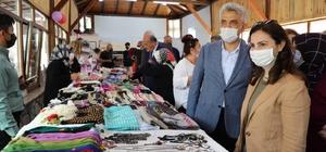 Kadınların yöresel üretime katkıda bulunmaları amacıyla kurulan kooperatif açıldı