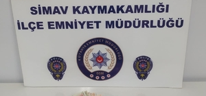 Simav'da hırsızlık operasyonu