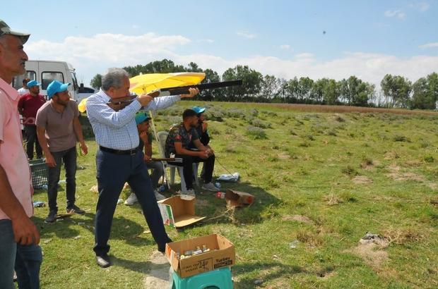 Akşehir'de trap atışı yarışması düzenlendi
