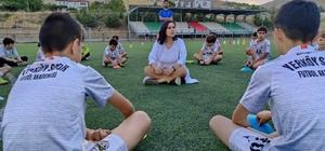 Futbol sahasında terapi