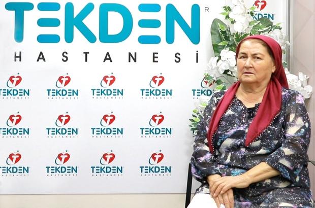 Çal'ın şair kadını Melahat Kuzu'dan Tekden Hastanesi doktorlarına anlamlı şiir