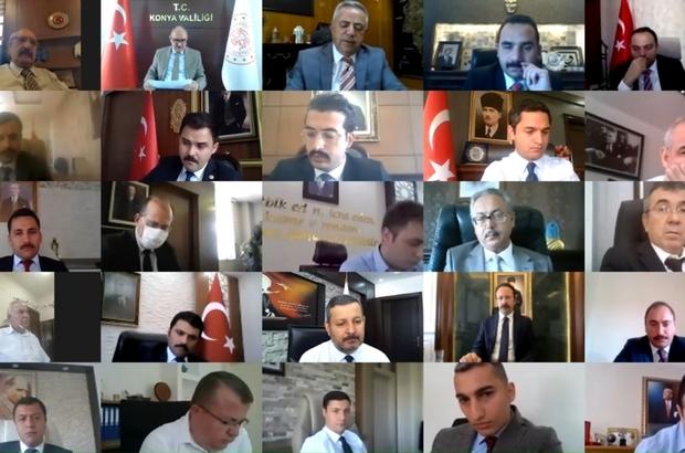 """Vali Özkan: """"Hedefimiz kısa zamanda yüzde yüze yakın aşılma faaliyeti geçekleştirmek"""""""