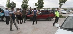Konya'da kurşunlanan otomobilin sürücüsü yaralandı