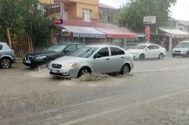 Yaylada  dolu ve sağanak etkili oldu Mersin'de Avgadı Yaylası'nda dolu yağışı ve ardından sağanak etkili oldu