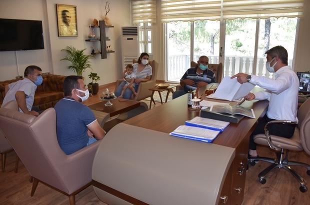 Şehit orman işçisinin ailesi Başkan Oktay ile görüştü