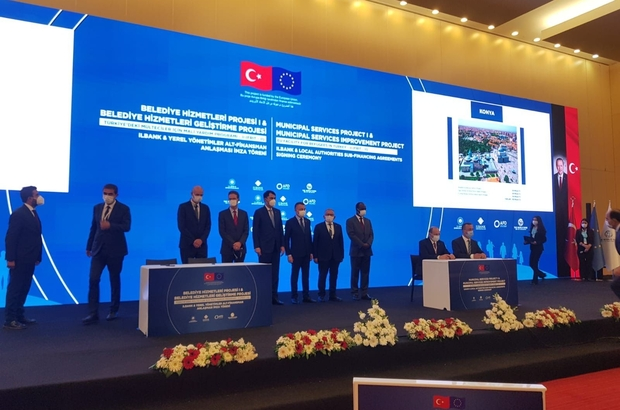 Başkan Büyükkılıç Ankara'da 288 milyon TL'lik imzayı attı